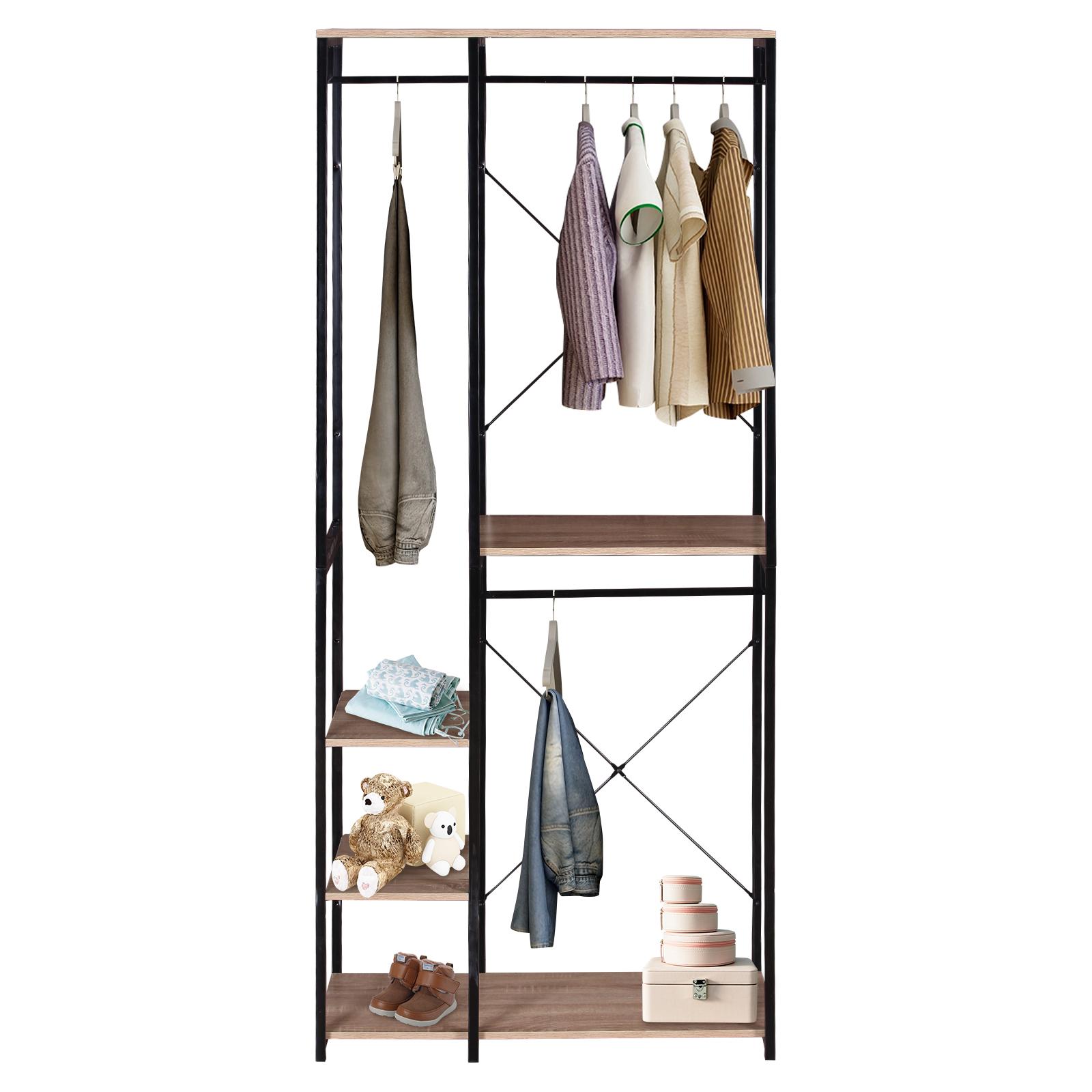 Garderobenständer Kleiderständer Wäscheständer Wäschesammler Garderobe Metall